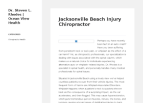 jacksonvillebeachflchiropractor.com