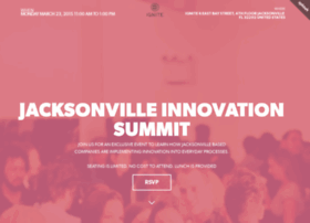 jacksonvilleinnovationsummit.splashthat.com
