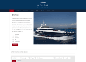 jacktarsuperyachtcharter.com