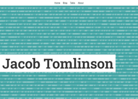 jacobtomlinson.co.uk