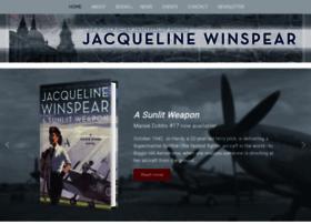 jacquelinewinspear.com