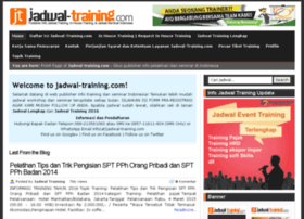 jadwal-training.com