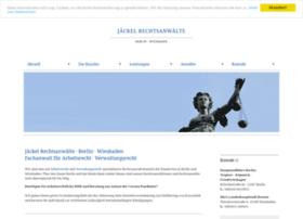 jaeckel-rechtsanwaelte.de