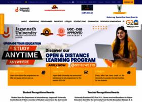 jagannathuniversity.org