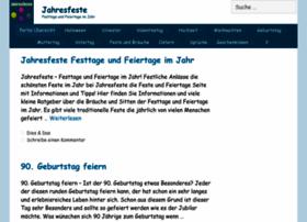 jahresfeste.com