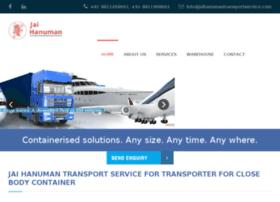 jaihanumantransportservice.com