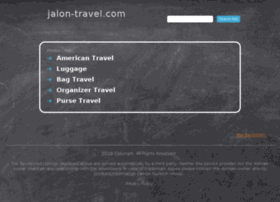 jalon-travel.com