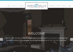 jamesandwallis.co.uk