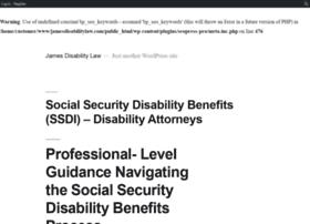jamesdisabilitylaw.com