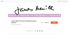 jamesmerrillhouse.submittable.com