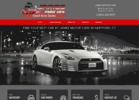 jamesmotorcars.net