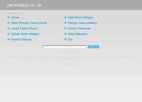 jamessays.co.uk