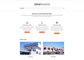 jamiahussainia.org