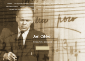 jan-cikker.org