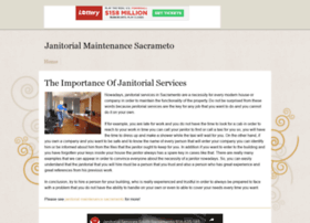 janitorialmaintenancesacrament13.tripod.com