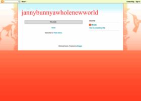 jannybunny-awholenewworld.blogspot.de