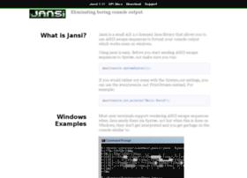jansi.fusesource.org