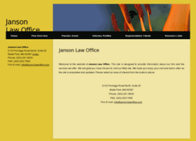 jansonlawoffice.com