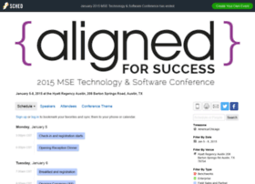 january2015msetechnologysoftware.sched.org