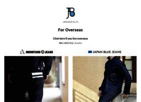 japanbluejeans.com