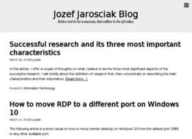 jarosciak.com