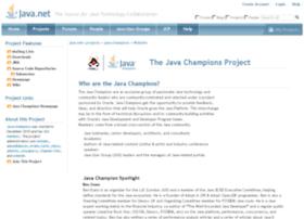 java-champions.java.net