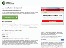 java-runtime-environment.xtremedownload.com