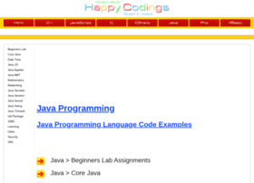 Java.happycodings.com