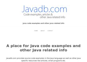 javadb.com