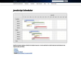 javascript.daypilot.org