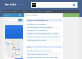 javascript.tutorialhorizon.com