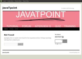 javatpoint.blog.com