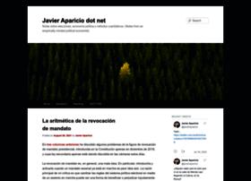 javieraparicio.net