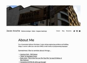 javieraroche.com
