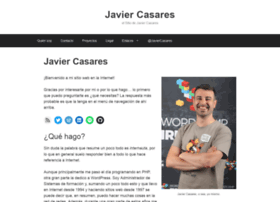 javiercasares.com