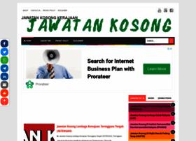 jawatankosongkerajaan2020.blogspot.com
