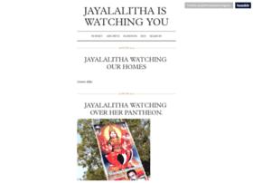 jayalalithaiswatchingyou.tumblr.com