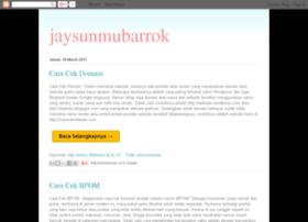 jaysunmubarrok.blogspot.com
