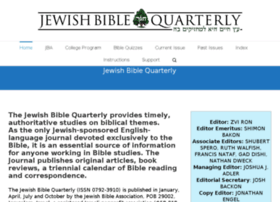 jbq.jewishbible.org