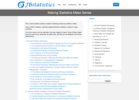 jbstatistics.com