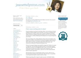 jeanettelynton.blogspot.com