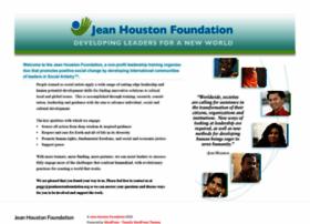 jeanhoustonfoundation.org