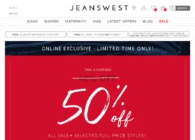 jeanswest.com