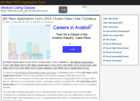 jeemain2015applicationform.in