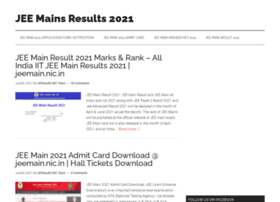 jeemains.allresultsnic.in