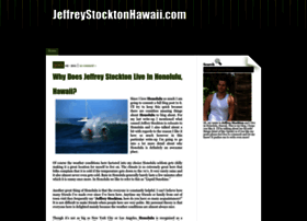jeffreystocktonhawaii.com