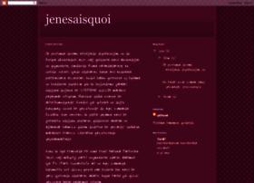 jenesaisquoiii.blogspot.com