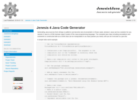 jenesis4java.sourceforge.net