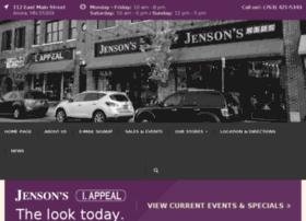 jensons.icebergwebdesign.com