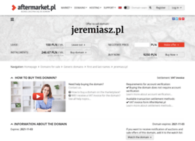jeremiasz.pl